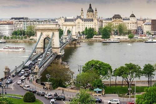 Будапешт за один день на самокате