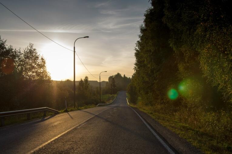 В Норвегию на машине. Часть 2. Начало пути
