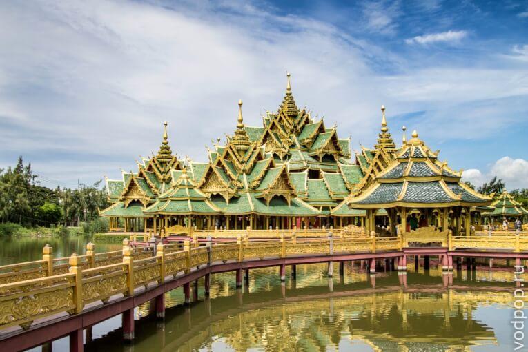 Достопримечательности Бангкока. Парк «Древний город» в Бангкоке