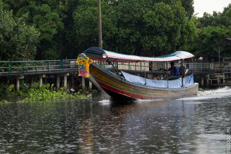 Лодки в Бангкоке (Khlong boats)