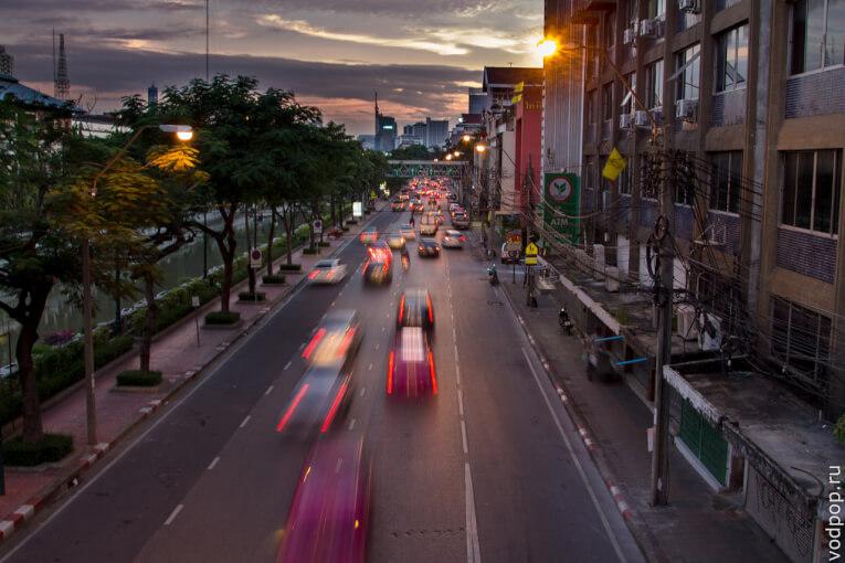 Транспорт в Бангкоке. Такси в Бангкоке
