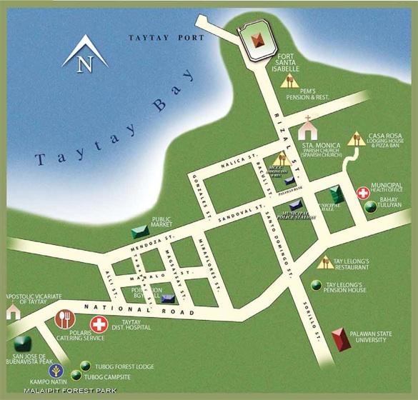 Карта Тай Тай