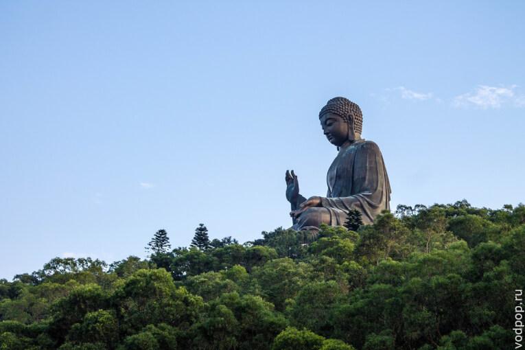 Большой Будда в Гонконге и рыбацкая деревня Тай О