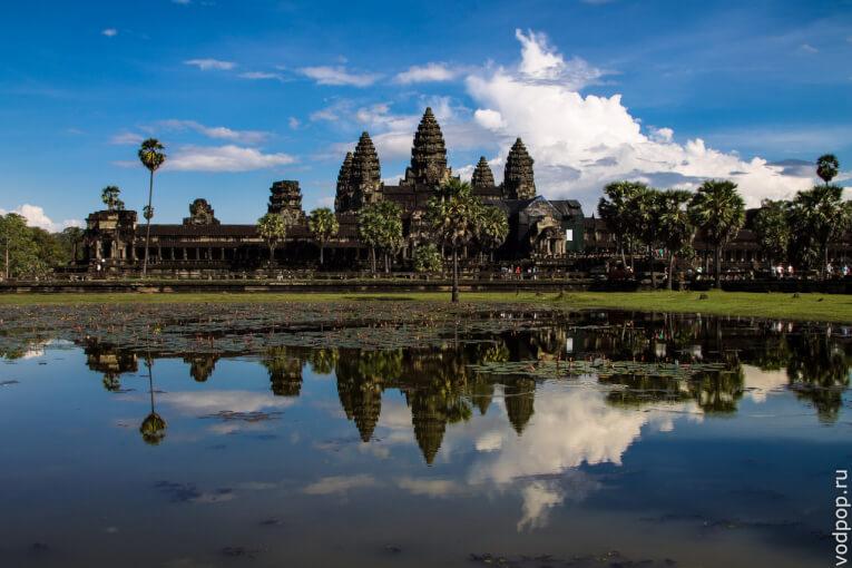Храм Ангкор Ват. Восьмое чудо света