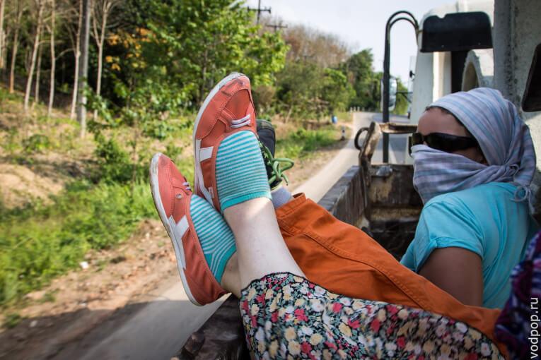 Автостопом из Таиланда в Малайзию