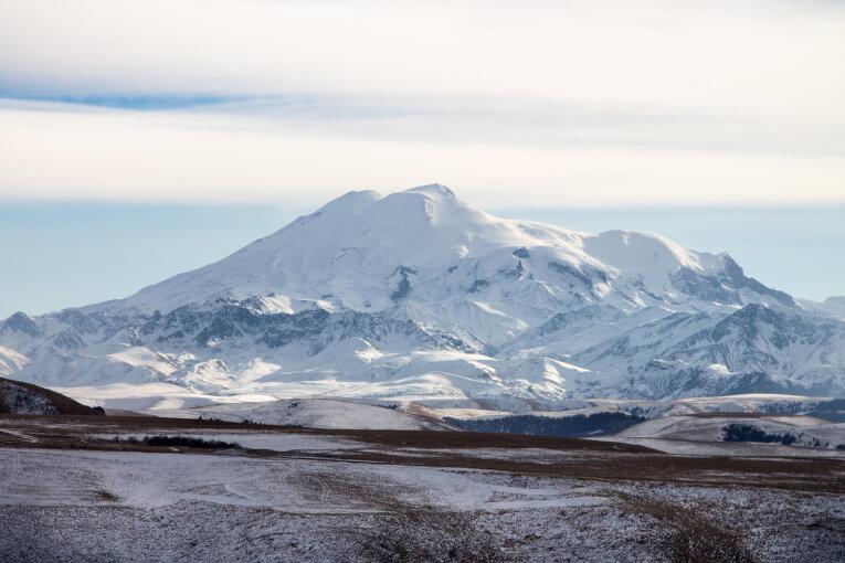 Горы Кавказа на машине. Горнолыжный комплекс Архыз