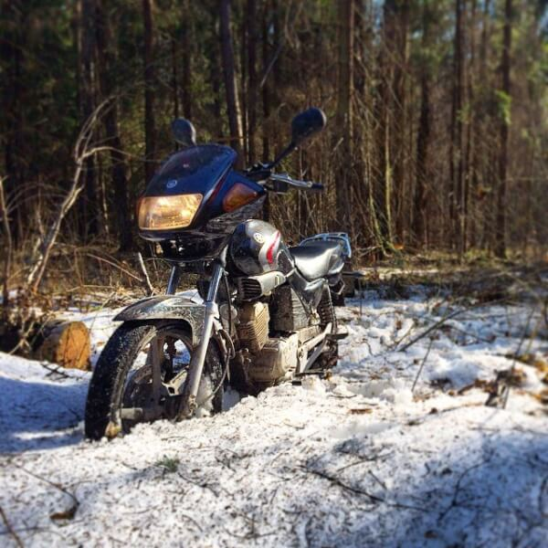 Вредные советы. Как утопить мотоцикл