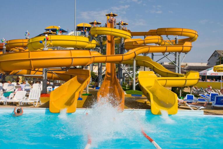 Аквапарк Золотой Пляж в Анапе