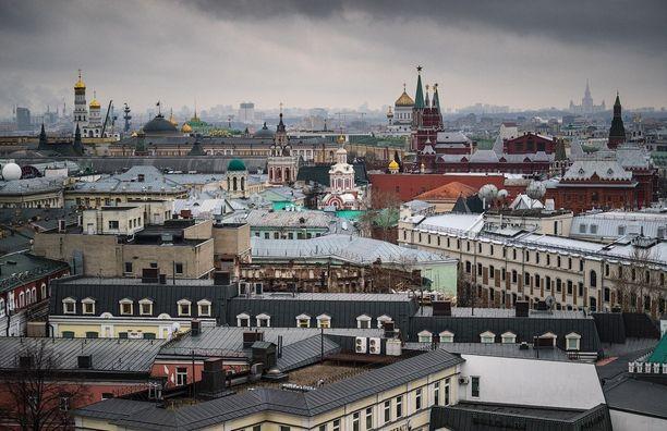 Смотровая площадка на крыше Центрального Детского Мира