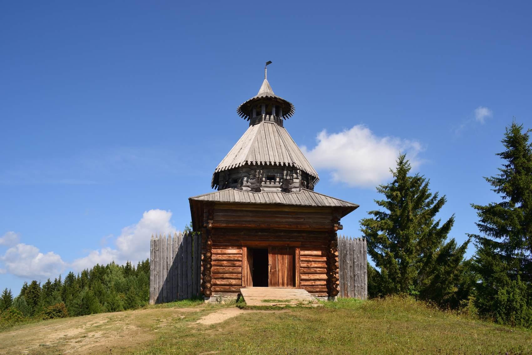 Хохловка, музей деревянного зодчества
