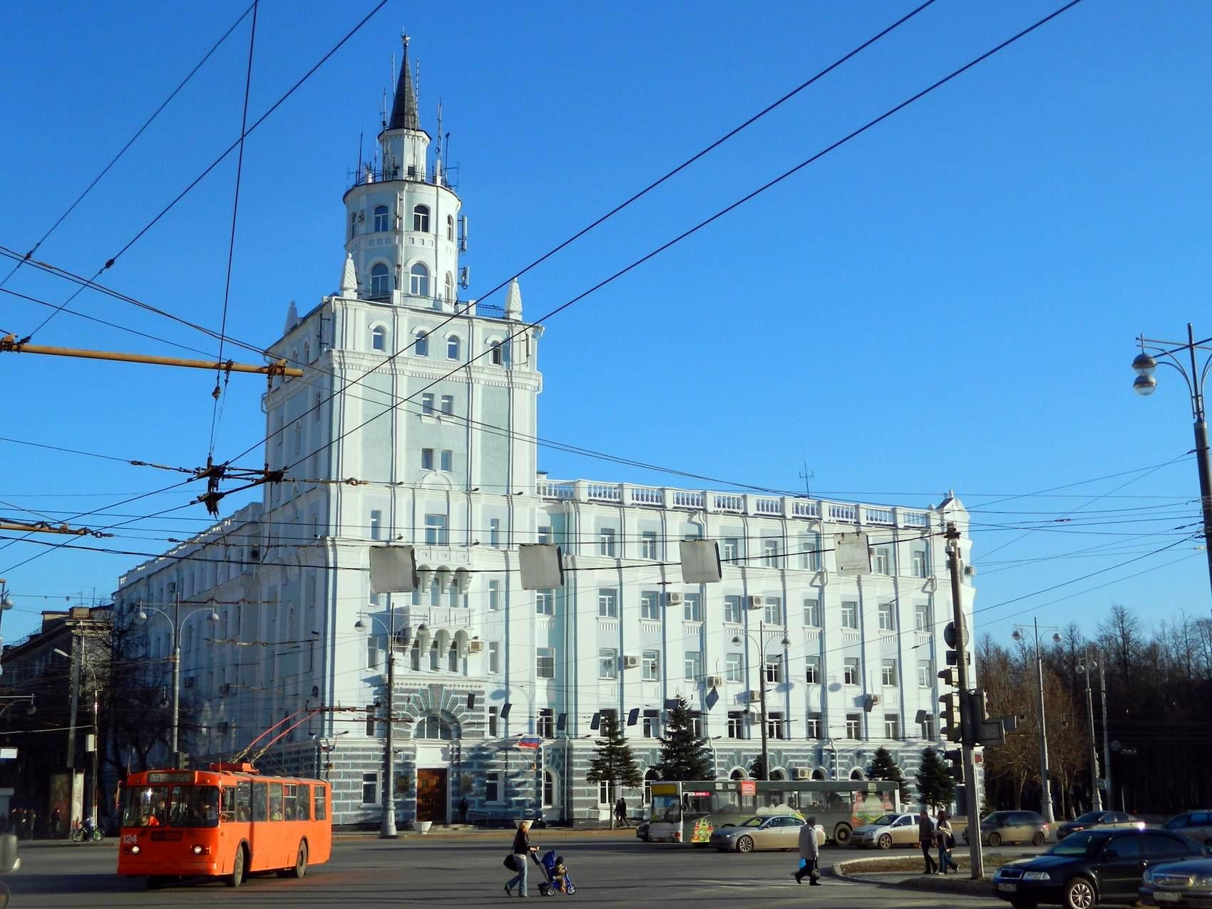 Комсомольский проспект в Перми