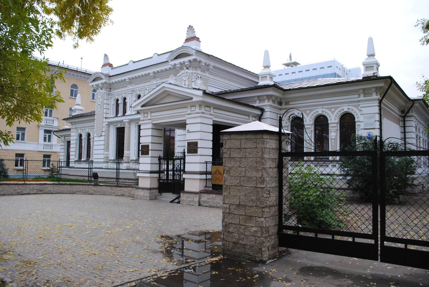Лучшие музеи Уфы, фасад Музея археологии